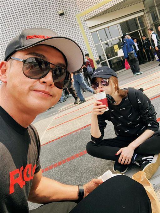 (圖/翻攝自李沛旭臉書)李沛旭,健身,健美賽,亞洲IFBB,蔡淑臻