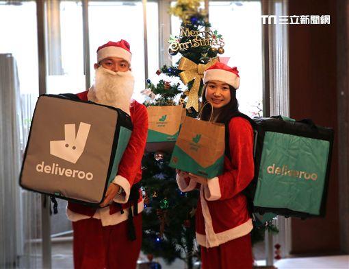 聖誕節,戶戶送,Deliveroo,聖誕老公公,火雞,新東陽