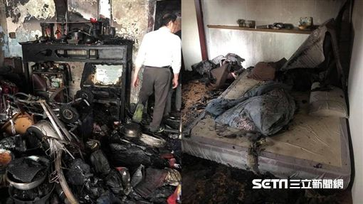 獨居爺家被燒毀,善心人士幫修繕/陳韋強提供