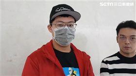 袁惟仁兒子袁義、經紀人Ivan 圖/記者李依純攝影