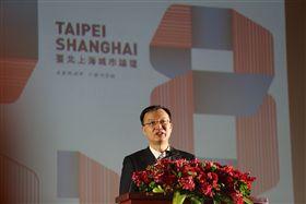 ▲上海副市長周波。(圖/北市府提供)