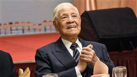 前總統李登輝出席「台灣國家聯盟」募款餐會。 圖/記者林敬旻攝