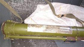他搭小黃忘記拿行李 司機打開一看…竟是「RPG火箭筒」(圖/翻攝自烏克蘭國家警察官網)