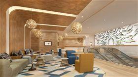 ▲Pure Yoga 會館打造如五星飯店奢華氣派(圖/翻攝自Pure Yoga 官網)