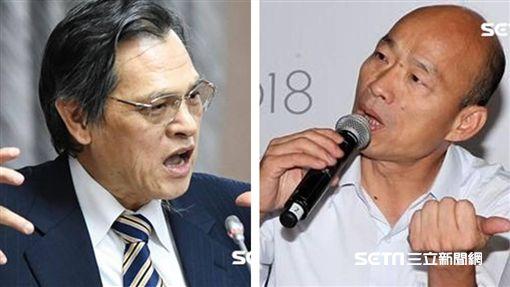 陳明通、韓國瑜(組圖/資料照)