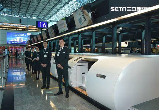 自助行李託運櫃檯,桃園機場,行李,第二航廈,/桃機公司提供