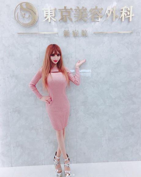 日本女星茶村(Vanilla Chamu)整型成癮。(圖/翻攝自Vanilla Chamu IG)
