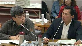 黃國昌提案砍法務部長特別費 段宜康:可能快換人了 (圖/翻攝自立法院轉播)