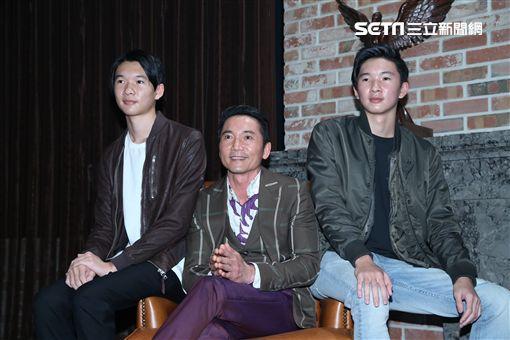 鄒兆龍返台拍攝手遊廣告,首度與雙胞胎兒子公開亮相