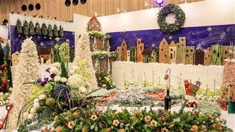 花博迎聖誕 花舞館辦聖誕花藝設計賽