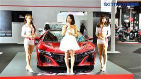 Honda NSX。(圖/鍾釗榛攝影)