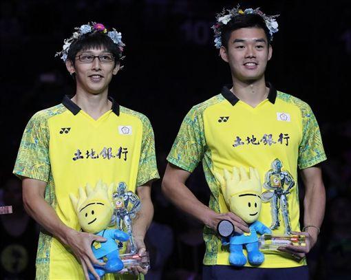 陳宏麟與王齊麟確定拆夥。(圖/翻攝自BWF官網)