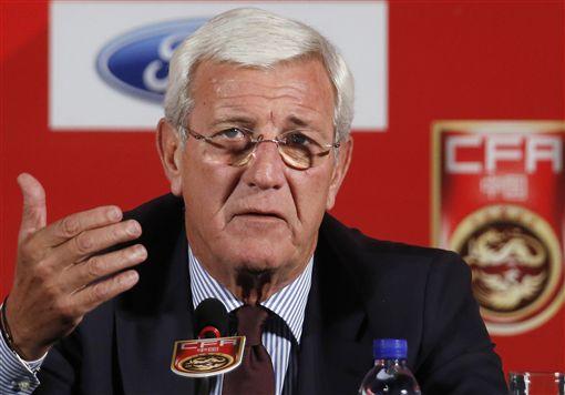 ▲中國足球國家隊總教練里皮(Marcello Lippi)。(資料照/美聯社/達志影像)