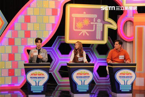 潘裕文、徐凱希、盧學叡、Lulu《燃燒吧!大腦君》 圖/中天電視提供