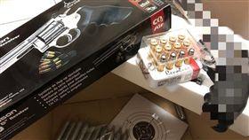 聖誕禮物,玩具,槍枝,BB彈(圖/翻攝自爆怨公社)