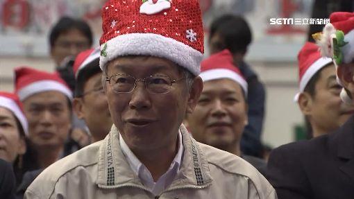 從不過聖誕節 柯文哲:行憲紀念日才放假!
