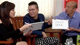 韓冰、沈玉琳、韓國瑜 圖/翻攝自Yahoo TV
