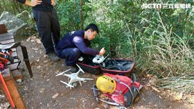 失蹤2天!陸軍航特部上校找到了,在河床尋獲遺體。(圖/台中市消防局提供)