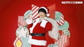 林育羣明天下午將巧扮聖誕歌手在信義誠品快閃表演。(圖/翻攝林育羣臉書)
