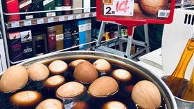 超市,賣場,民生用品,米酒,蛋,茶葉蛋。(圖/美廉社提供)