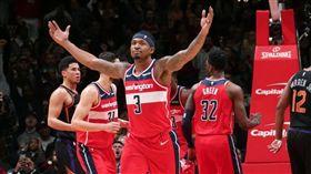 NBA/畢爾爆發 巫師3OT勝太陽 NBA,華盛頓巫師,Bradley Beal,鳳凰城太陽 翻攝自推特