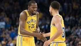 NBA/KD關鍵三分 勇士勝獨行俠 NBA,金州勇士,Kevin Durant,Stephen Curry,達拉斯獨行俠 翻攝自推特