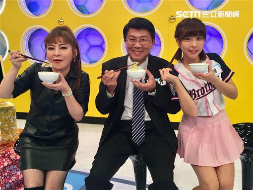 王彩樺、辜菀允、謝龍介、峮峮、洪都拉斯、黃鐙輝《17趣郊遊》 圖/17 Media提供