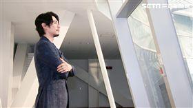 日本男星藤岡靛回台特別接受三立新聞網訪問。