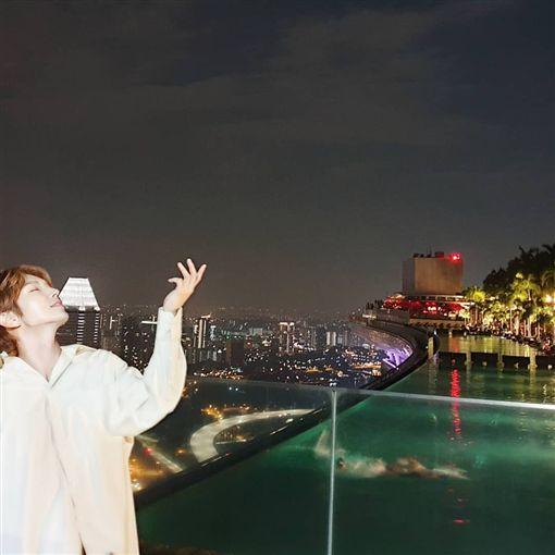 IU,李準基,新加坡,演唱會,台灣(圖/翻攝自李準基Instagram)