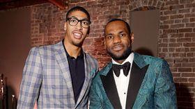 NBA/賈奈特建議一眉離隊求冠 NBA,洛杉磯湖人,LeBron James,Anthony Davis,組隊 翻攝自推特