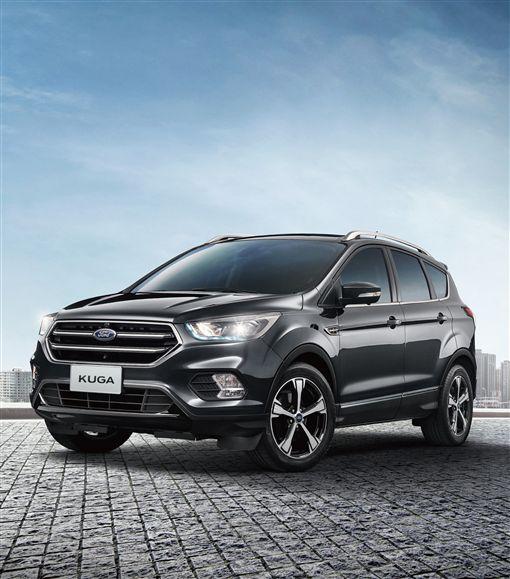 12月初升級新登場的2019年式New Ford Kuga。(圖/Ford提供)