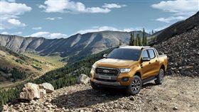 今年第四季推出的運動休旅皮卡New Ford Ranger。(圖/Ford提供)