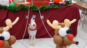 大安分局,警察,聖誕夜,聖誕節(圖/翻攝自大安波麗士臉書)