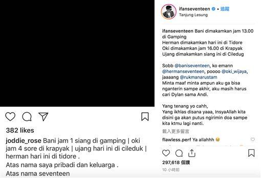 印尼,海嘯,Riefian Fajarsyah/instagram