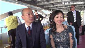 韓國瑜就職典禮與妻李佳芬搭乘愛之船,三立新聞