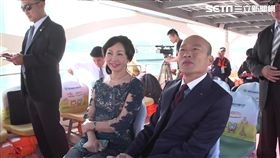韓國瑜偕妻李佳芬高雄市長就職典禮,愛之船抵達會場, 三立新聞
