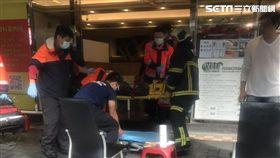 台北市中山區林森北路409號大樓發生墜樓事件