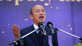 韓國瑜就職演說 中英雙語致詞