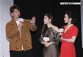 三立新八點台劇「炮仔聲」首映會,陳志強與王宇婕、吳婉君對戲。(記者林士傑/攝影)