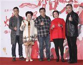三立新八點台劇「炮仔聲」首映會,黃建群、張琴、林在培、劉秀雯、徐亨。(記者林士傑/攝影)
