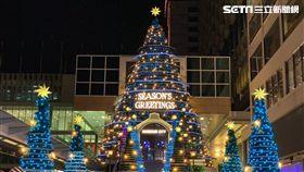 香港,聖誕節。(圖/記者馮珮汶攝)