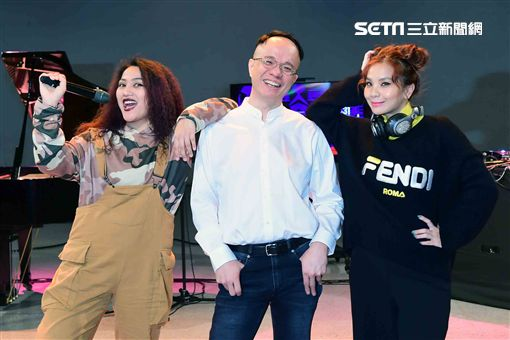 鋼琴家陳瑞斌、原住民女歌手莫娜、世界百大女DJ的DJ Cookie 圖/華視提供