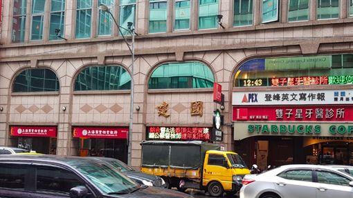 上海銀行,詐貸。翻攝google map