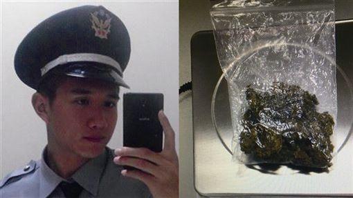 台中,警員,陳丕為,大麻,毒品危害防制條例。翻攝畫面