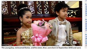 (圖/翻攝自每日郵報)泰國,龍鳳胎,兄妹,結婚