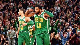 NBA/厄文飆40分 綠軍勝76人 NBA,塞爾提克,Kyrie Irving,耶誕大戰 翻攝自推特