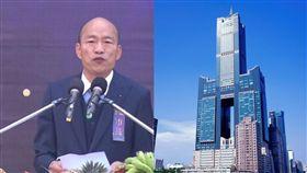 韓國瑜與85大樓