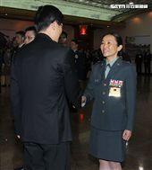 國軍第九位女將軍辜麗都,蔡英文總統上任第一位女將軍,任職馬防部政戰主任。(記者邱榮吉/攝影)
