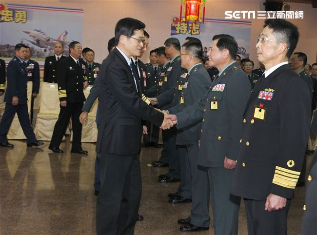 108年上半年陸軍司令部政戰主任簡士偉將官晉任。(記者邱榮吉/攝影)