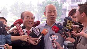 前立法院長王金平至高雄市府拜會韓國瑜,三立新聞